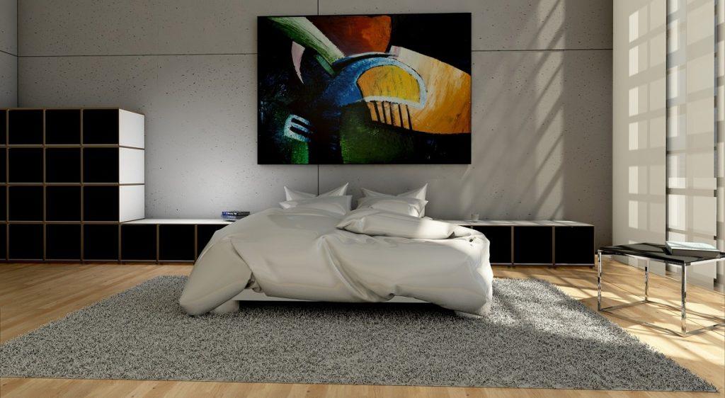 Stanza da letto in stile contemporaneo